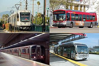 Los Angeles County Metropolitan Transportation Authority - Four Metro-operated modes of service