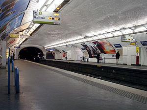 Pereire (Paris Métro) - Image: Metro de Paris Ligne 3 Pereire 01