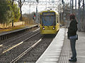Metrolink Tram Approaching Trafford Bar, David Dixon, 3371036.jpg