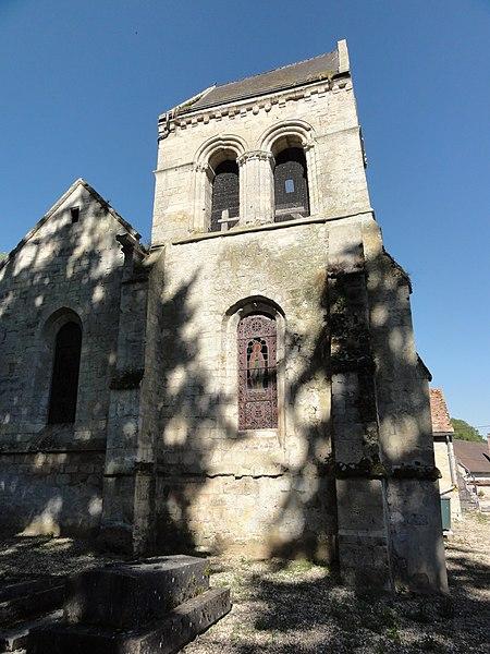 Meurival (Aisne) église
