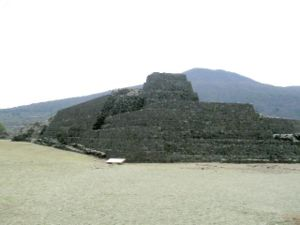 Tarascan state - The archaeological site of Tzintzuntzan, capital of the Tarascan state