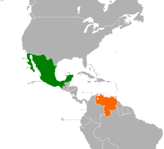 Diplomatic relations between the United Mexican States and the Bolivarian Republic of Venezuela