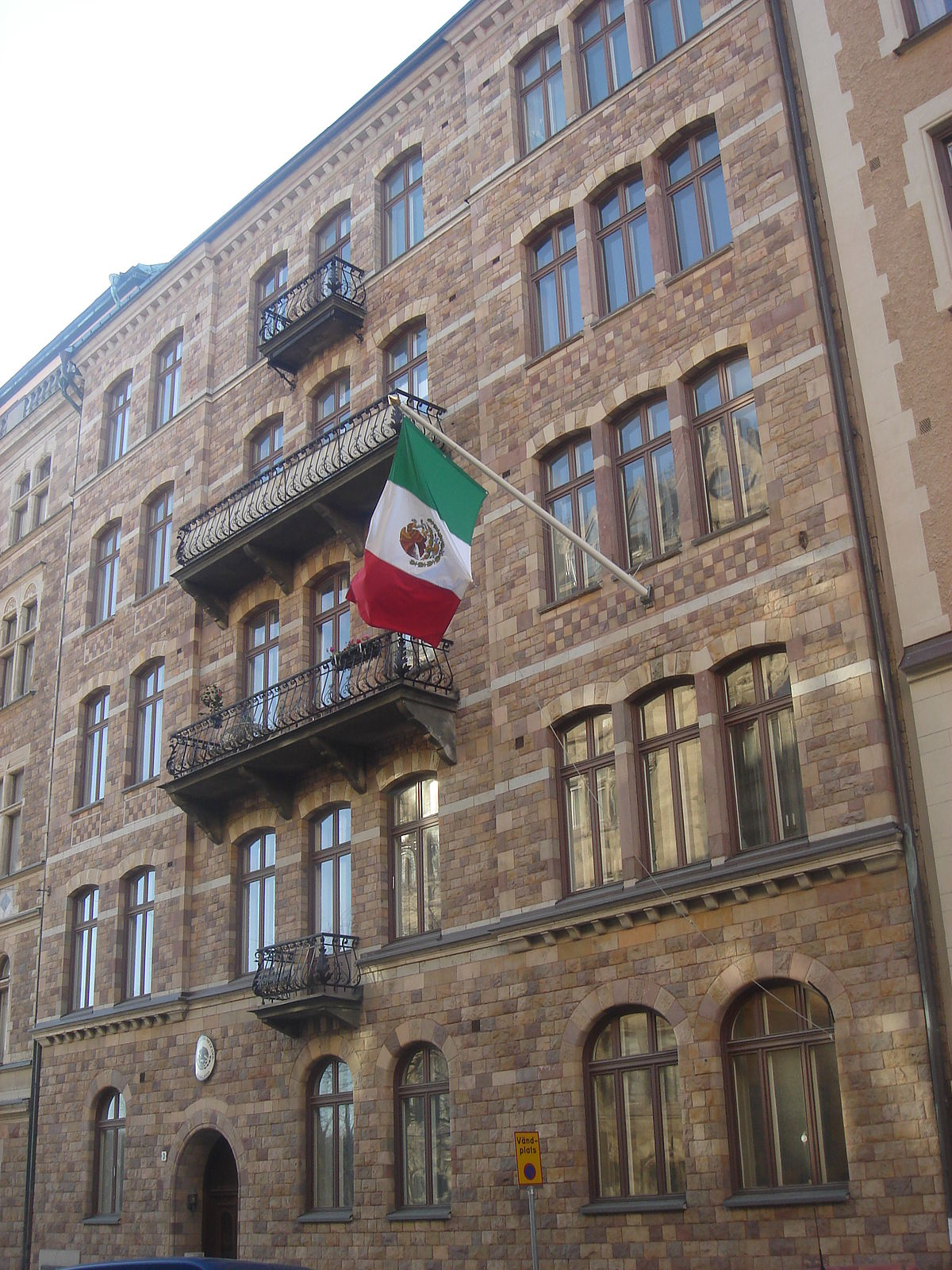 Embassy Of Mexico, Stockholm