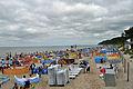 Międzyzdroje, am Strand, a (2011-07-25) by Klugschnacker in Wikipedia.jpg