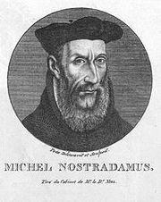 Portrait de Nostradamuspar le Dr. Niel.