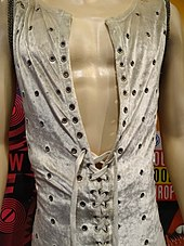 Jagger's jumpsuit from the Stones 1972 tour, on display at the Rock and Roll Hall of Fame museum, Cleveland, Ohio