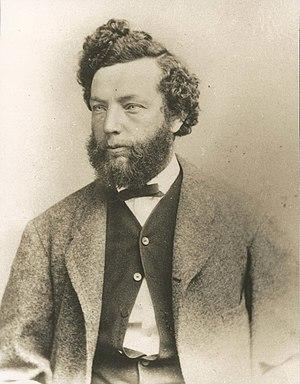 Charles Roscoe Savage - Middle-aged C.R. Savage bust portrait
