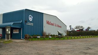 Midland Air Museum - The Sir Frank Whittle Jet Heritage Centre at the Midland Air Museum