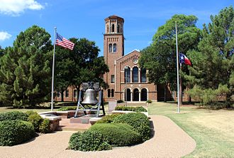 Wichita Falls, Texas - Hardin Administration Building at Midwestern State University