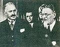 Mihály Jungerth-Arnóthy and Mikhail Kalinin.jpg