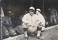 Mike Donlin, outfielder for the Pittsburgh Pirates sitting outside dugout at Robison Field.jpg