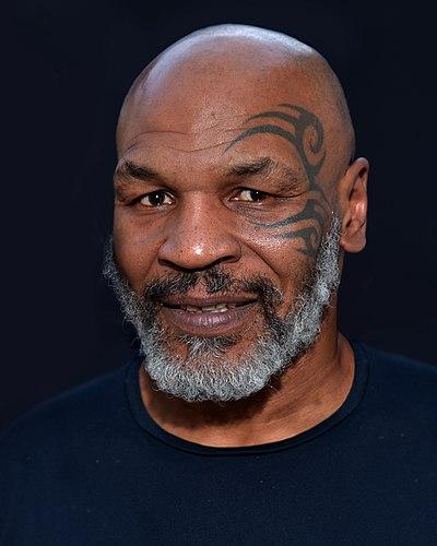 Mike Tyson, American boxer