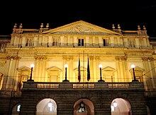 Teatro alla Scala by night