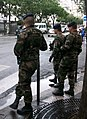 Militaires à Paris, plan Vigipirate septembre 2013.JPG
