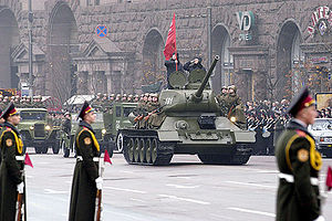 60th Anniversary of the Liberation of Ukraine - Image: Military Parade in Kiev, 2004
