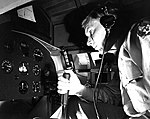 Military Personnel Using Link Trainer with Kollsman Instrument Panel, Randolph Field (11825521495).jpg