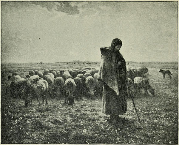 Millet by Romain Rolland - The Shepherdess.jpg