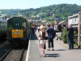 British Rail Class 201 - Image: Minehead 1001 West Somerset Limited