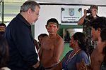 Ministro da Defesa visita Vila Bitencourt - AM (33339336250).jpg