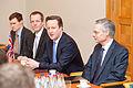 Ministru prezidenta Valda Dombrovska tikšanās ar Apvienotās Karalistes Ministru prezidentu Deividu Kameronu (8514466439).jpg