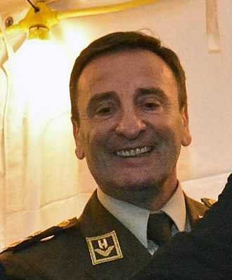 Chief of the General Staff of the Armed Forces of the Republic of Croatia - Image: Mirko Šundov