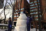 Misawa sailors begin USS Constitution snow sculpture 150131-N-EC644-004.jpg