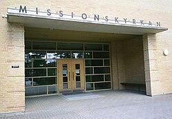 Sven lindberg i immanuelskyrkan