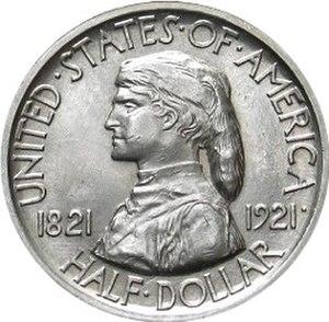 Missouri Centennial half dollar - Image: Missouri centennial half dollar commemorative obverse