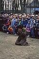Misterium Męki Pańskiej- Sąd odbywający się przed Piłatem. Piotr wypierający się Pana Jezusa - Górka Klasztorna - 002094s.jpg