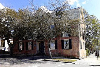Wilmington, North Carolina - Mitchell-Anderson House (built 1738)