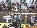 Mock fight after Aizu parade 2.JPG