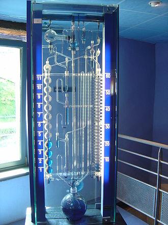 Bernard Gitton - Modern water clock by Bernard Gitton