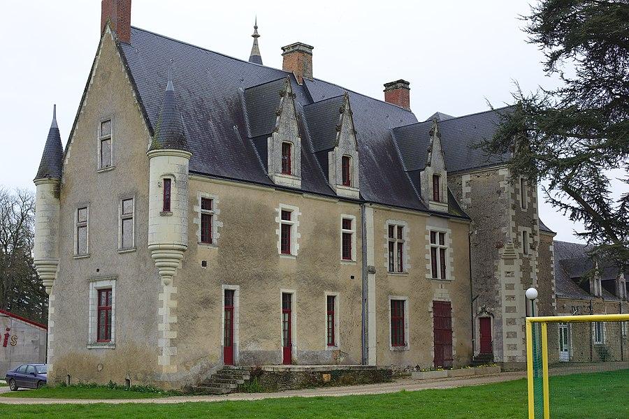 Le château de la Guyonnière à Montreuil-Juigné.