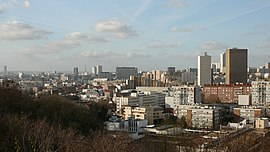 Skyline of Montreuil