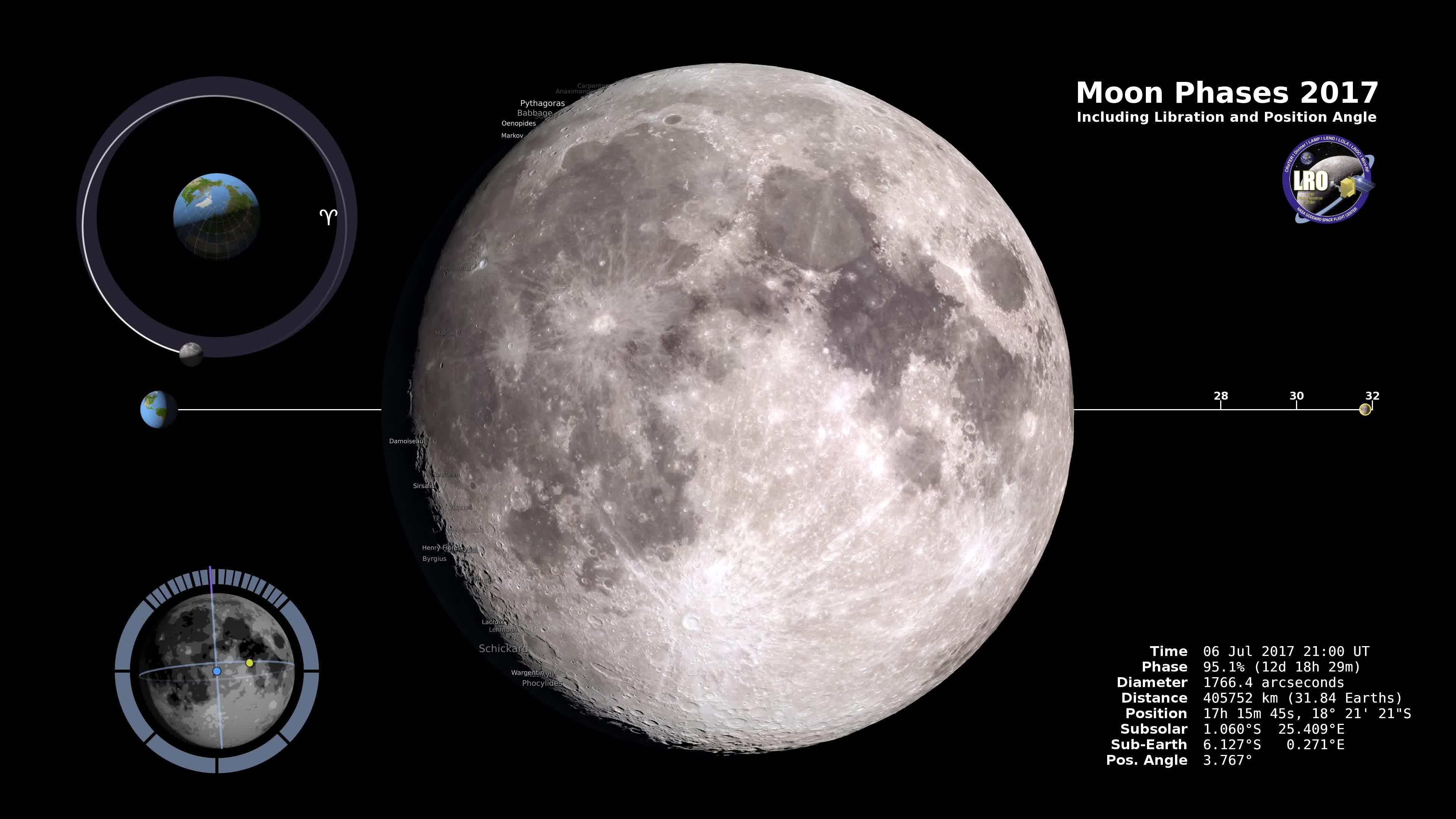 2017 nasa moon phase today - photo #7