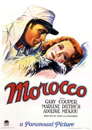 Morocco (film) - Image: Morocco 1930
