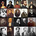 Mosaïque portraits - littérature française 19e s.jpg