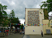 Mosaic wall art Sutton Surrey.JPG
