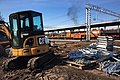 Moscow, construction of Belokamennaya MCC platform (31014782791).jpg