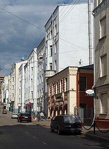 Мамоновский переулок — Википедия