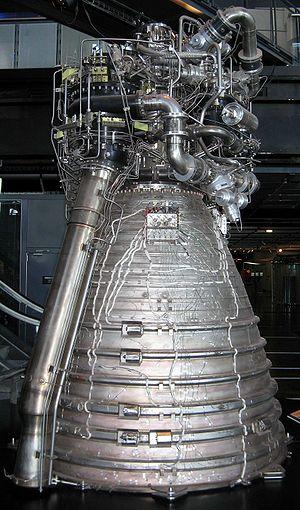 Cryogenic rocket engine - Vulcain engine of Ariane 5 rocket