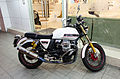 Moto Guzzi V7 Classic Parked in Front of Dr. Well Clinic 20141119.jpg