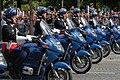 Motorbikes gendarmes Bastille Day 2007.jpg