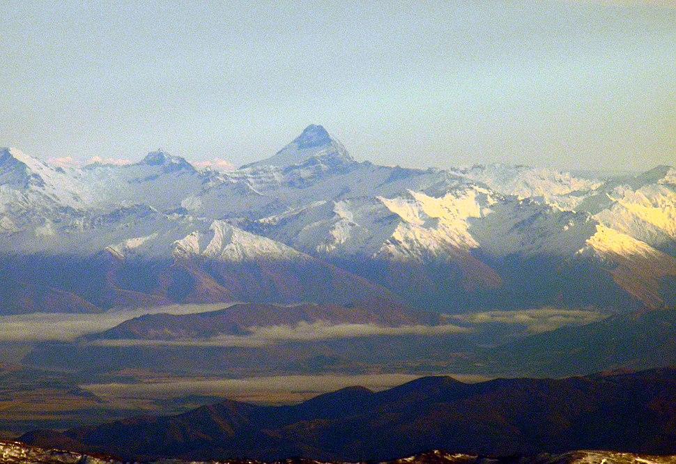 Mount Aspiring, Otago, New Zealand, 22 July 2005