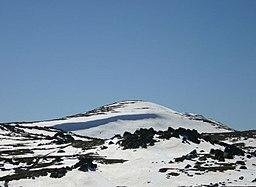 Vy over Mount Kosciuszko fra øst.