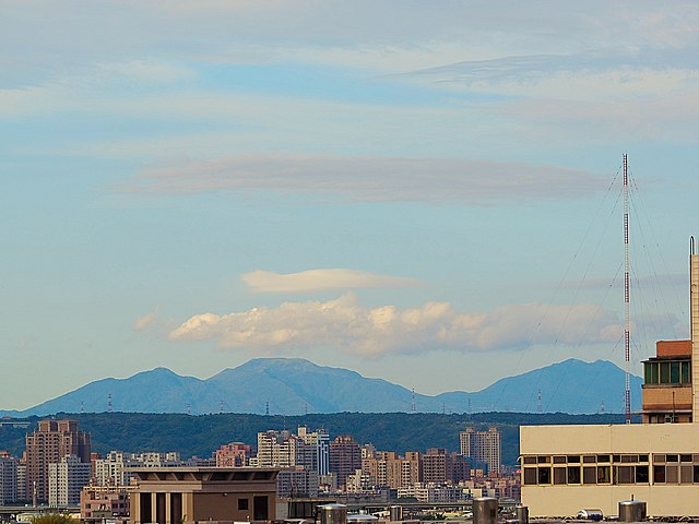 File Mountain View From Top Of Building In Taoyuan Jpg Wikimedia