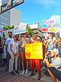Moveon.org Anti Trump Family Separation Protests - Miami Dade College, Miami Florida 02.jpg