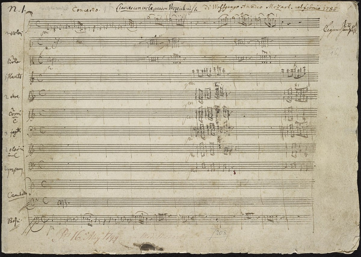 mozart sequentia term papers Recent research suggests that mozart died of inflammatory rheumatic fever, a   as vocal parts and figured bass for most of the sequentia (dies irae, tuba mirum,   in earlier sections of the requiem as well as supposed scraps of paper that.