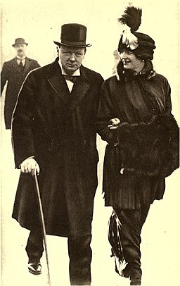 Mr. and Mrs. Winston Spencer Churchill
