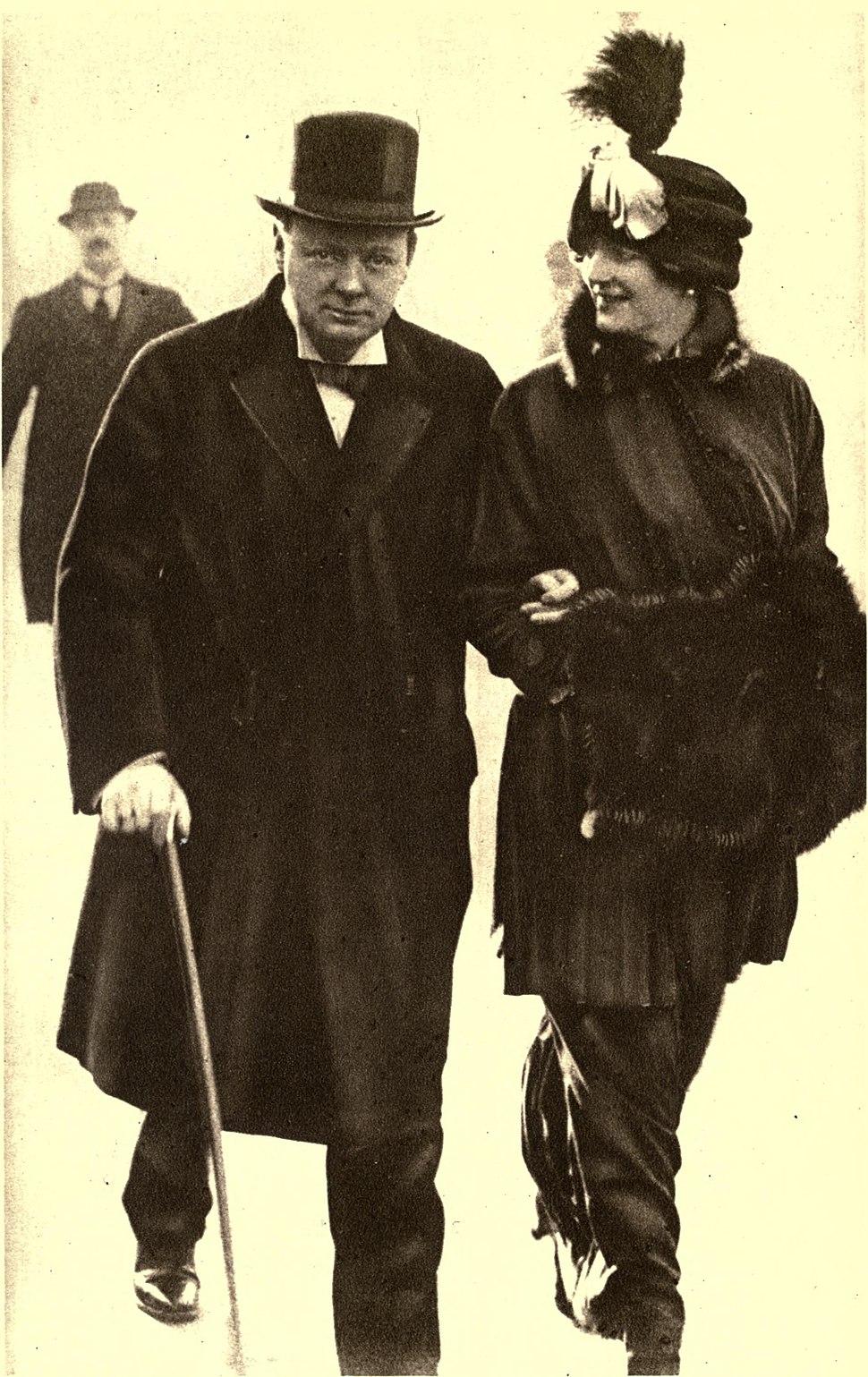 Mr. and Mrs. Winston Spencer Churchill